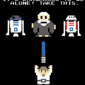 Zelda - Star Wars mashup