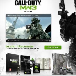 Vinn en custom MW3 Xbox!