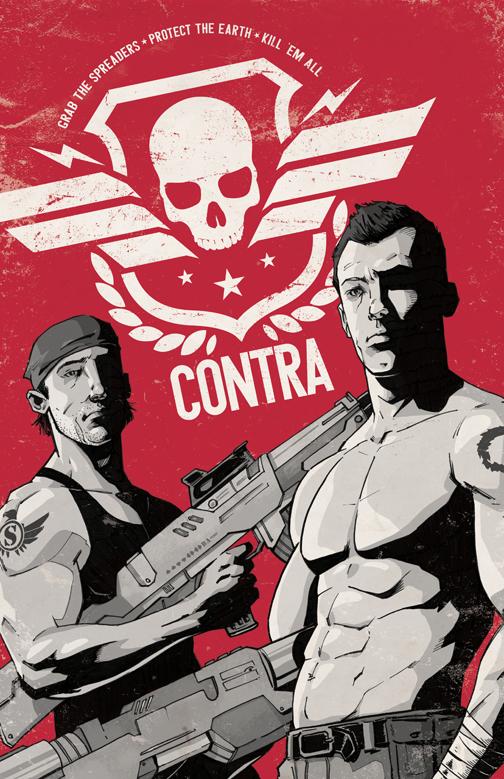 Contra NES av Adam Limbert
