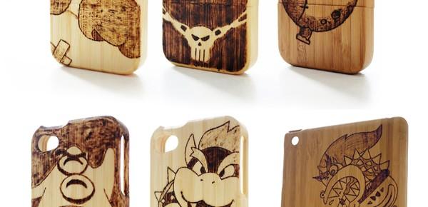 Bambuskal för iPhone & iPad med spelmotiv