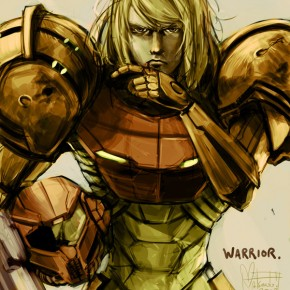 Samus Aran - Bad Ass Warrior