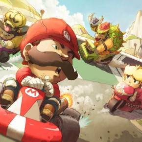 Mario Kart fan art av Ry-Spirit