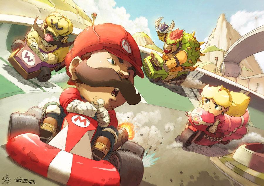 Mario Kart av Ry-Spirit